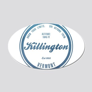 Killington Ski Resort Vermont Wall Decal