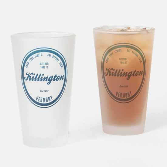 Killington Ski Resort Vermont Drinking Glass