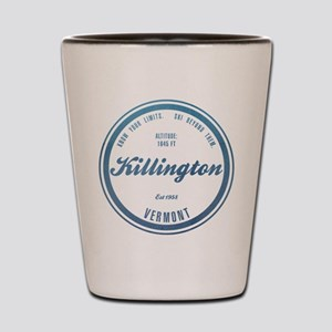 Killington Ski Resort Vermont Shot Glass
