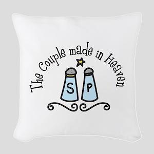 Made In Heaaven Woven Throw Pillow