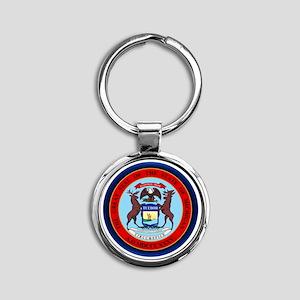 Michigan Seal Keychains