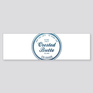 Crested Butte Ski Resort Colorado Bumper Sticker