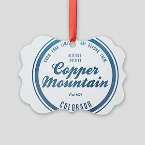 Copper Mountain Ski Resort Colorado Ornament