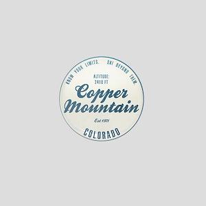 Copper Mountain Ski Resort Colorado Mini Button