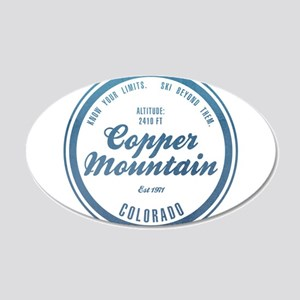 Copper Mountain Ski Resort Colorado Wall Decal
