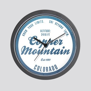 Copper Mountain Ski Resort Colorado Wall Clock