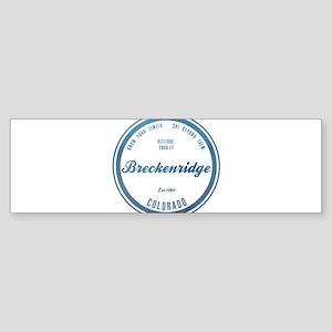 Breckenridge Ski Resort Colorado Bumper Sticker