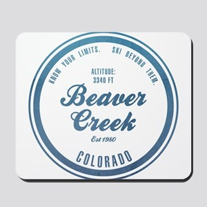 Beaver Creek Ski Resort Colorado Mousepad