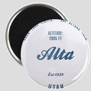 Alta Ski Resort Utah Magnets