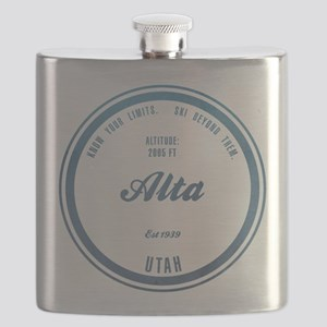 Alta Ski Resort Utah Flask