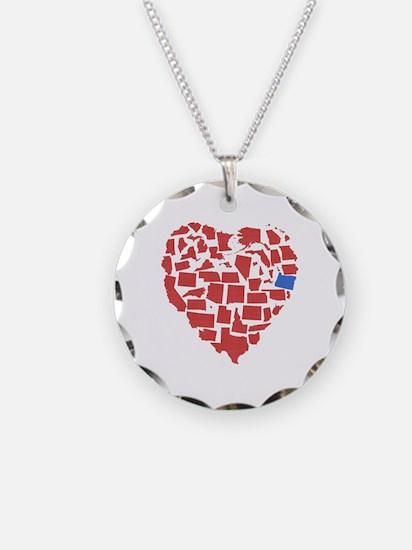 Oregon Heart Necklace