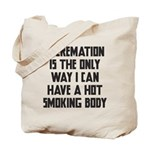 Cremation Tote Bag