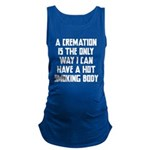Cremation Maternity Tank Top