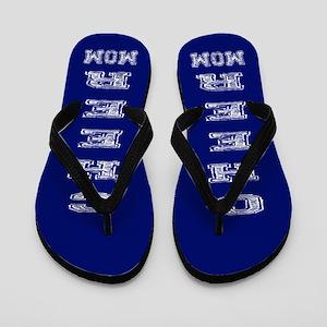 Blue Cheer Mom Flip Flops