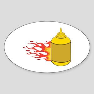 Mustard Bottle Sticker