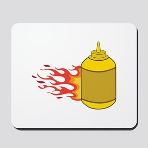 Mustard Bottle Mousepad