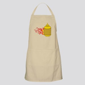 Mustard Bottle Apron