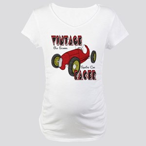 Sprint Car Vintage Racer Maternity T-Shirt