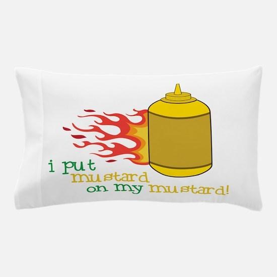Mustard Pillow Case