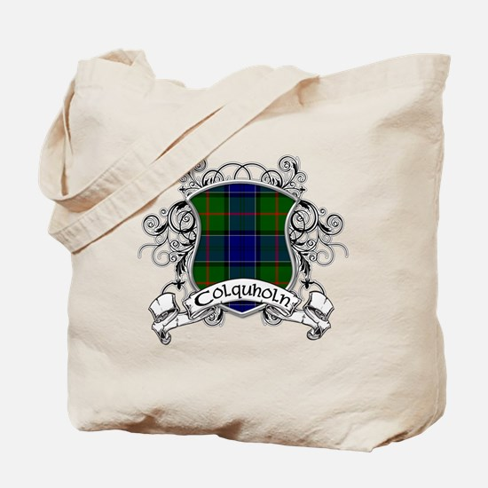 Colquholn Tartan Shield Tote Bag