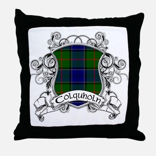 Colquholn Tartan Shield Throw Pillow