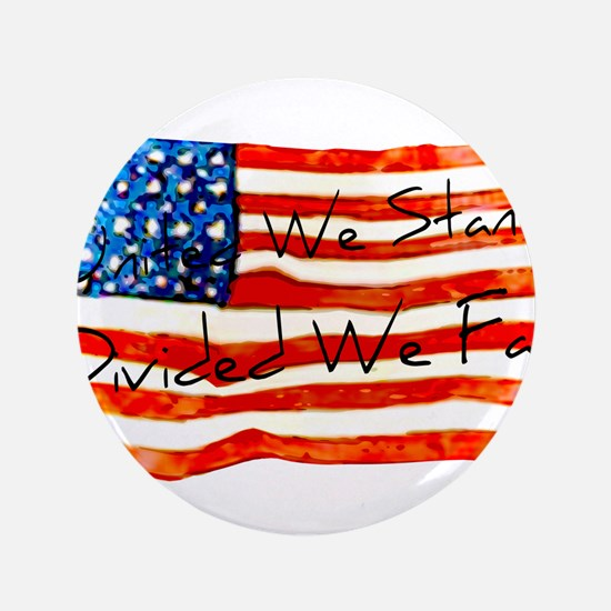 """United We Stand 3.5"""" Button"""