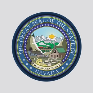 "Nevada Seal 3.5"" Button"