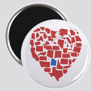 Utah Heart Magnet