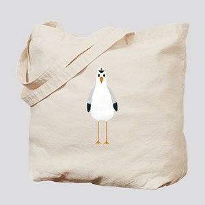 Captain Seagull Tote Bag