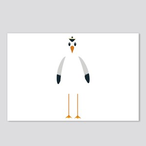 Captain Seagull Postcards (Package of 8)