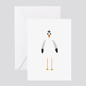 Captain Seagull Greeting Cards