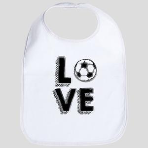 Soccer LOVE Bib