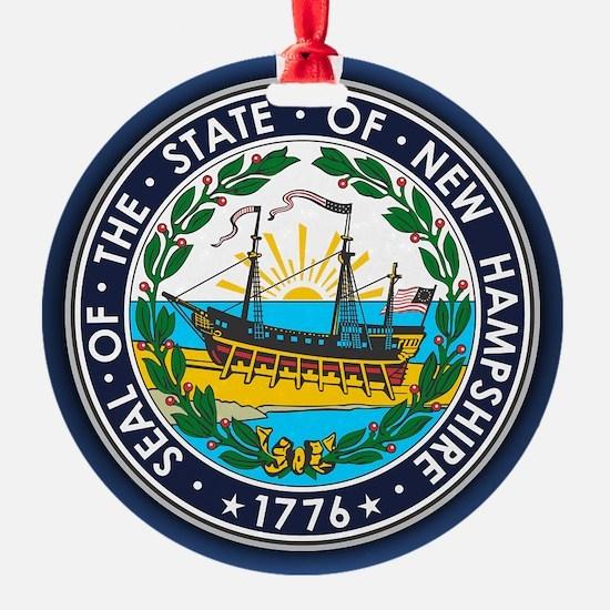 New Hampshire Seal Ornament