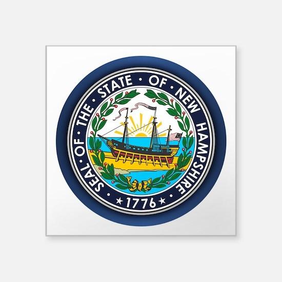 New Hampshire Seal Sticker
