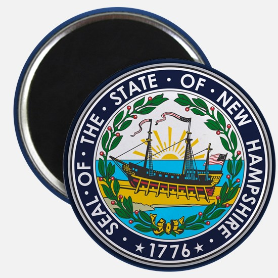 New Hampshire Seal Magnets