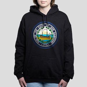 New Hampshire Seal Women's Hooded Sweatshirt