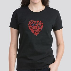Virginia Heart Women's Dark T-Shirt