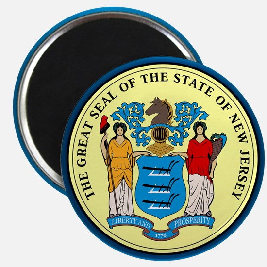 New Jersey Seal Magnets