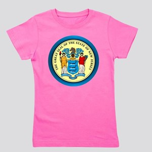 New Jersey Seal Girl's Tee