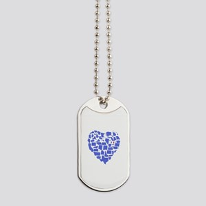Vermont Heart Dog Tags