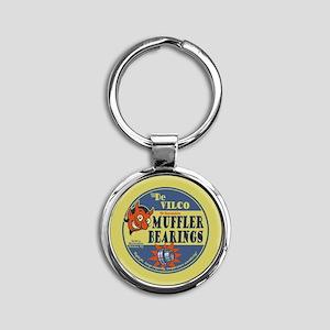 muffler-bearing-T Keychains