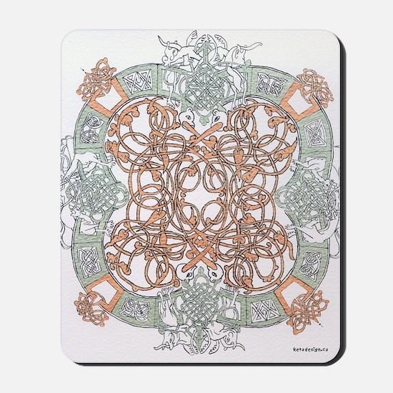 """Celtic """"O"""" Design Mousepad"""