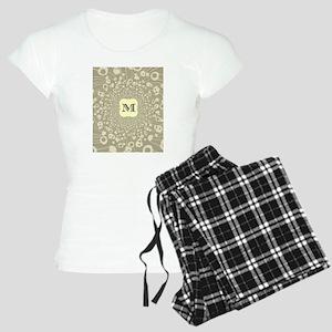 Monogram M Women's Light Pajamas