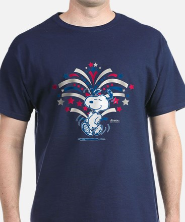 Snoopy Fireworks T-Shirt