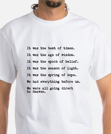 A Tale of Two Cities - Best of Times T-Shirt