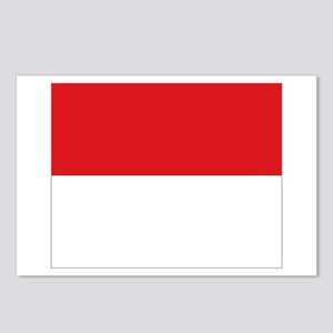 flag Monaco Postcards (Package of 8)
