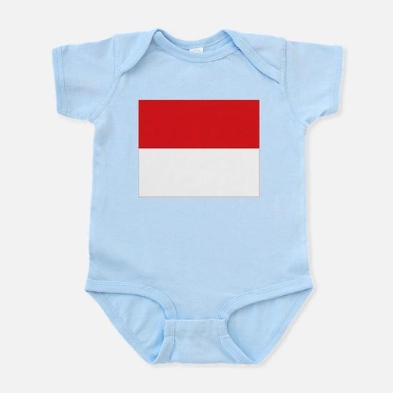 flag Monaco Infant Bodysuit