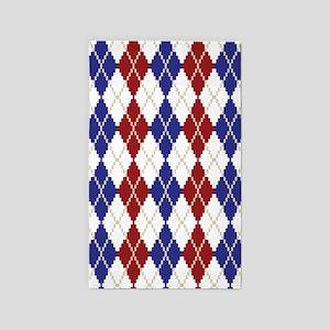 Americana Argyle 3'x5' Area Rug