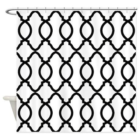 moroccan bed bath cafepress Navy Blue Door trendy moroccan pattern decorator trellis design s