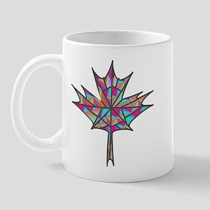 Maple Leaf Mosaic Mugs